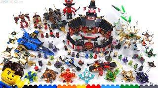 LEGO Ninjago Legacy & Spinjitzu sets wrap-up & viewer questions answered!