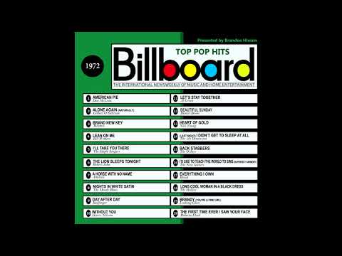 Billboard Top Pop Hits - 1972