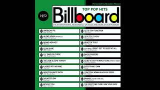 billboard top pop hits 1972