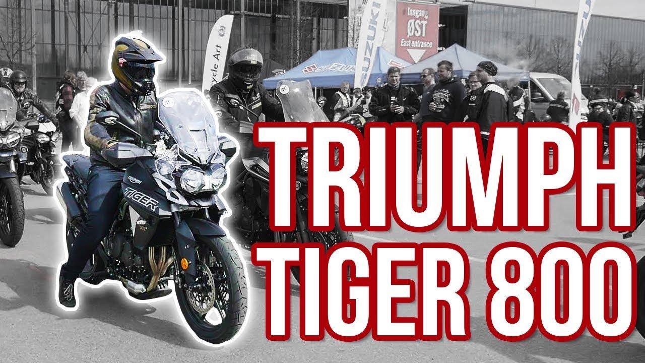 2018 Triumph Tiger 800 A2 Mc Messen 2018 Youtube