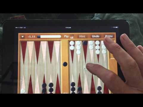 Backgammon NJ - Fairly typical rolls by AI opponent - njsoftware.com