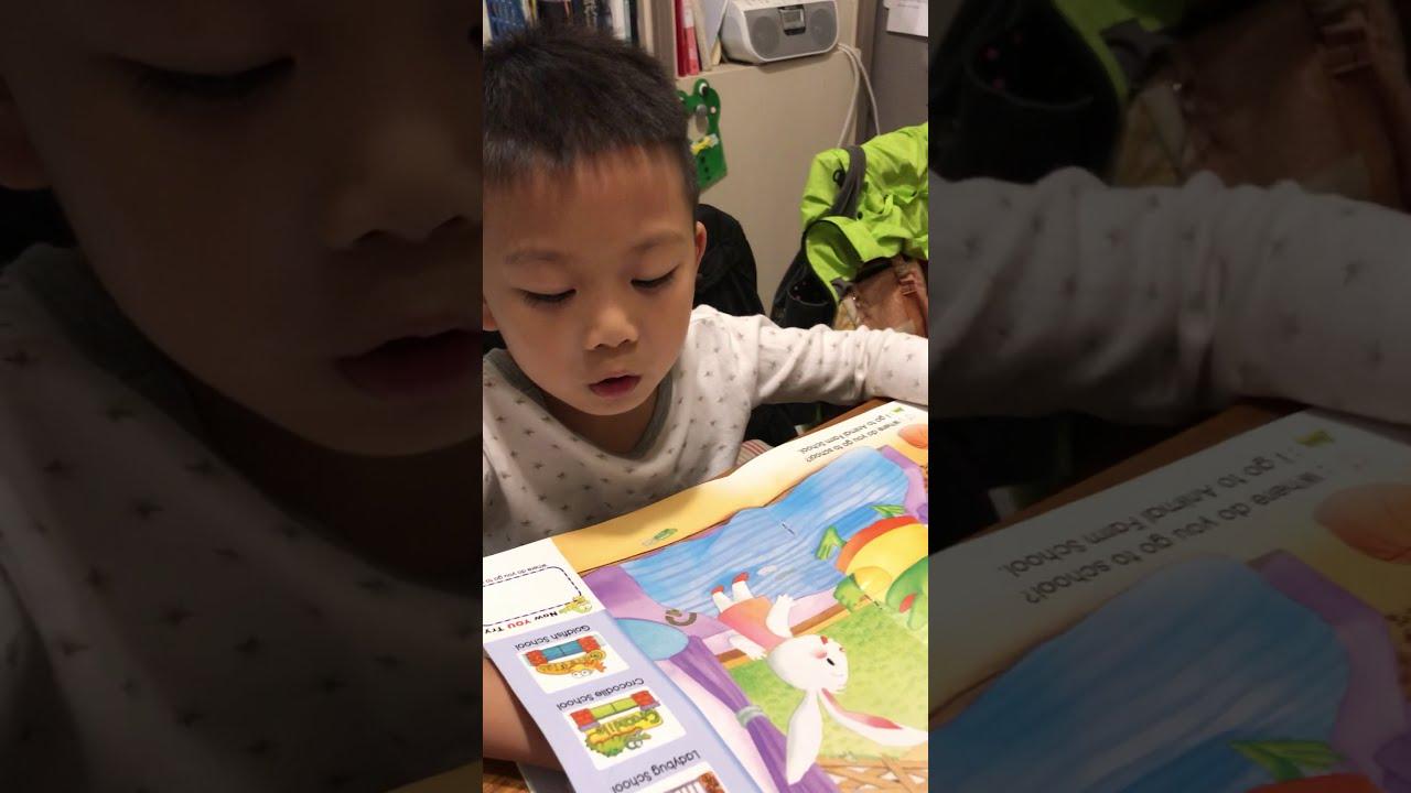 20191030 朱尼爾念英文Crocodile School - YouTube