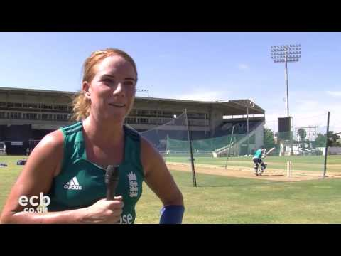 Lauren Winfield chats ahead of the 3rd ODI against the West Indies