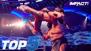 Video Top 5 Must-See Moments from IMPACT Wrestling for Aug 16, 2018 | IMPACT! Highlights Aug 16, 2018 download MP3, 3GP, MP4, WEBM, AVI, FLV Agustus 2018