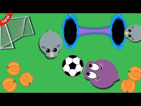 Mope.io NEW Soccer Mini Game Mode || *HACKER* Developer Teleports in Mope.io