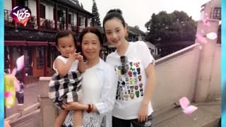 李小璐曬媽媽婆婆合影  甜馨霸氣站中間