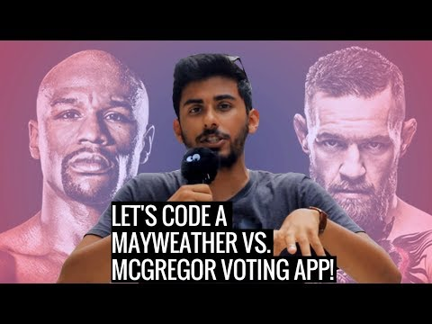 How to Make a Web App with Python - UFC Voting App