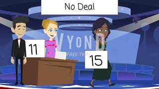 Lavender Kiss wins $1,000,000 on Deal Or No Deal