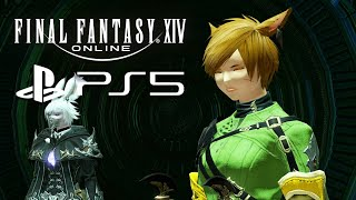 FFXIV Online The Twinning Dungeon Gameplay (PS5 Open Beta)