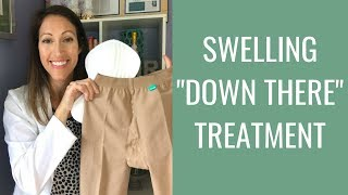How to Reduce Swelling Naturally Down Under  | Swollen Nether Region Treatment