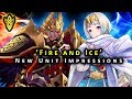 Fire Emblem Heroes - 'Fire And Ice' New Unit Impressions on Surtr & Ylgr