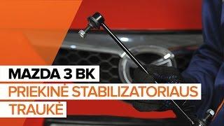 Montavimo Rėmas, stabilizatoriaus tvirtinimas MAZDA 3 (BK): nemokamas video