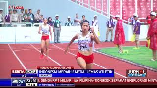 Indonesia Raih 2 Medali Emas Lari Estafet