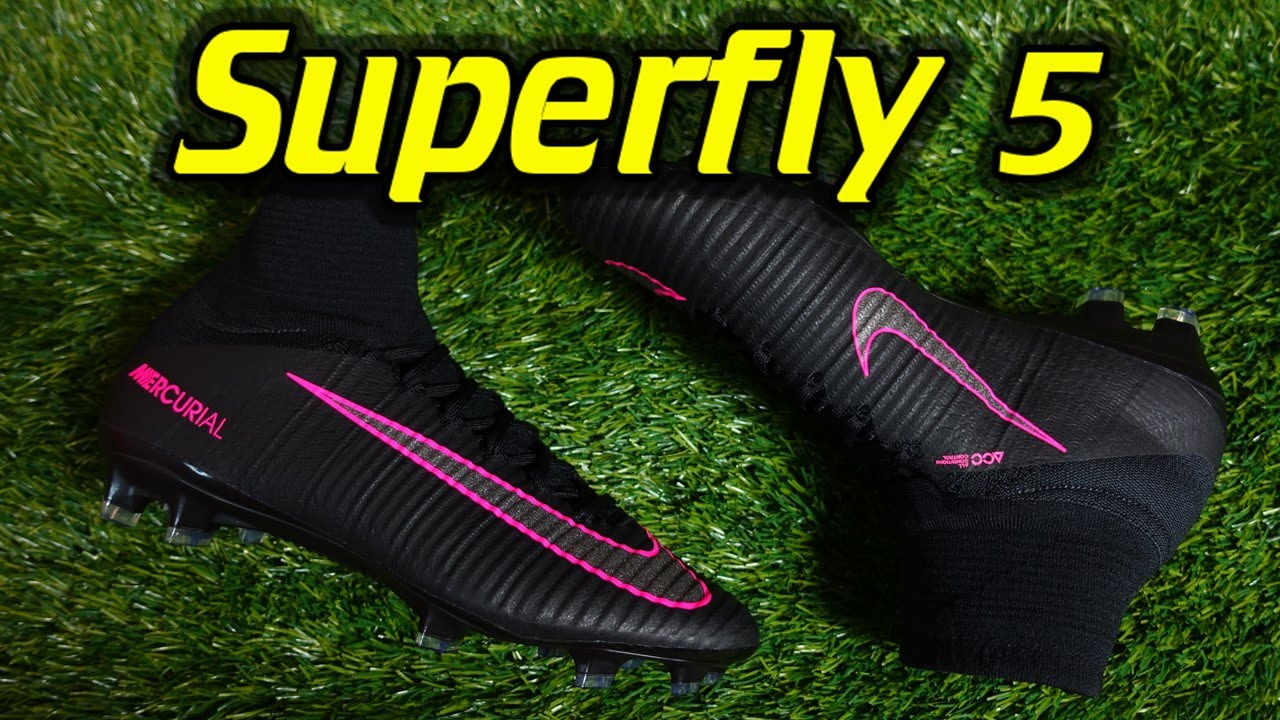 Nike Mercurial Superfly 5 (Pitch Dark Pack) - Review + On ...