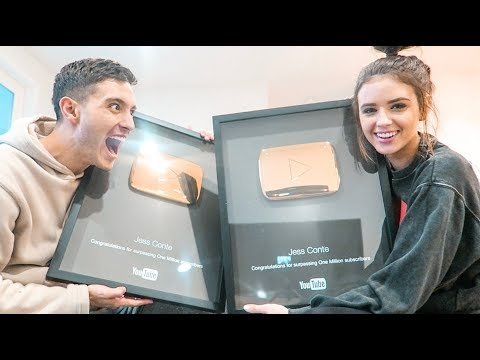 YOUTUBE SENT US AN EXTRA PLAQUE!! (1 million plaque giveaway)