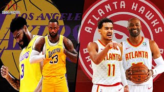 LAKERS vs HAWKS| Full Game Highlights! | December 15, 2019