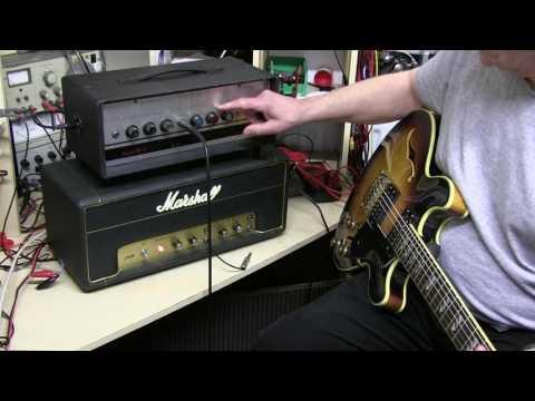 Marshall PA20, WEM ER15 Vintage Amp heads. Sound Comparison Part3