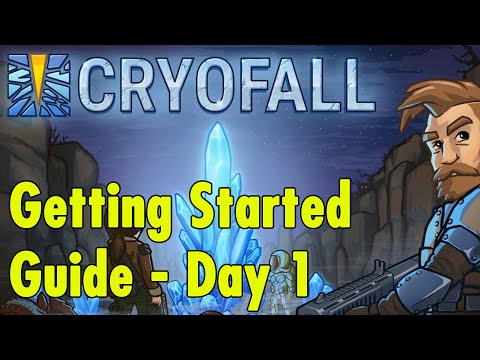 Cryofall - Getting Started Guide - Day 1 |