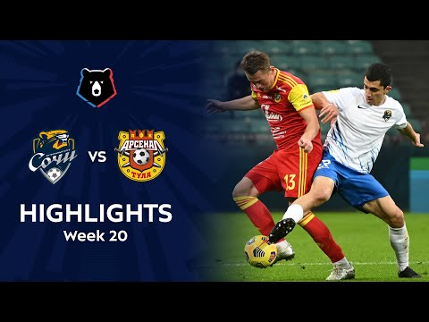 Sochi Arsenal Tula Goals And Highlights