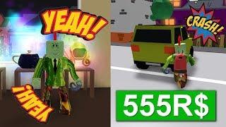 MIJN NIEUWE BAAN! (Roblox Delivery Simulator)