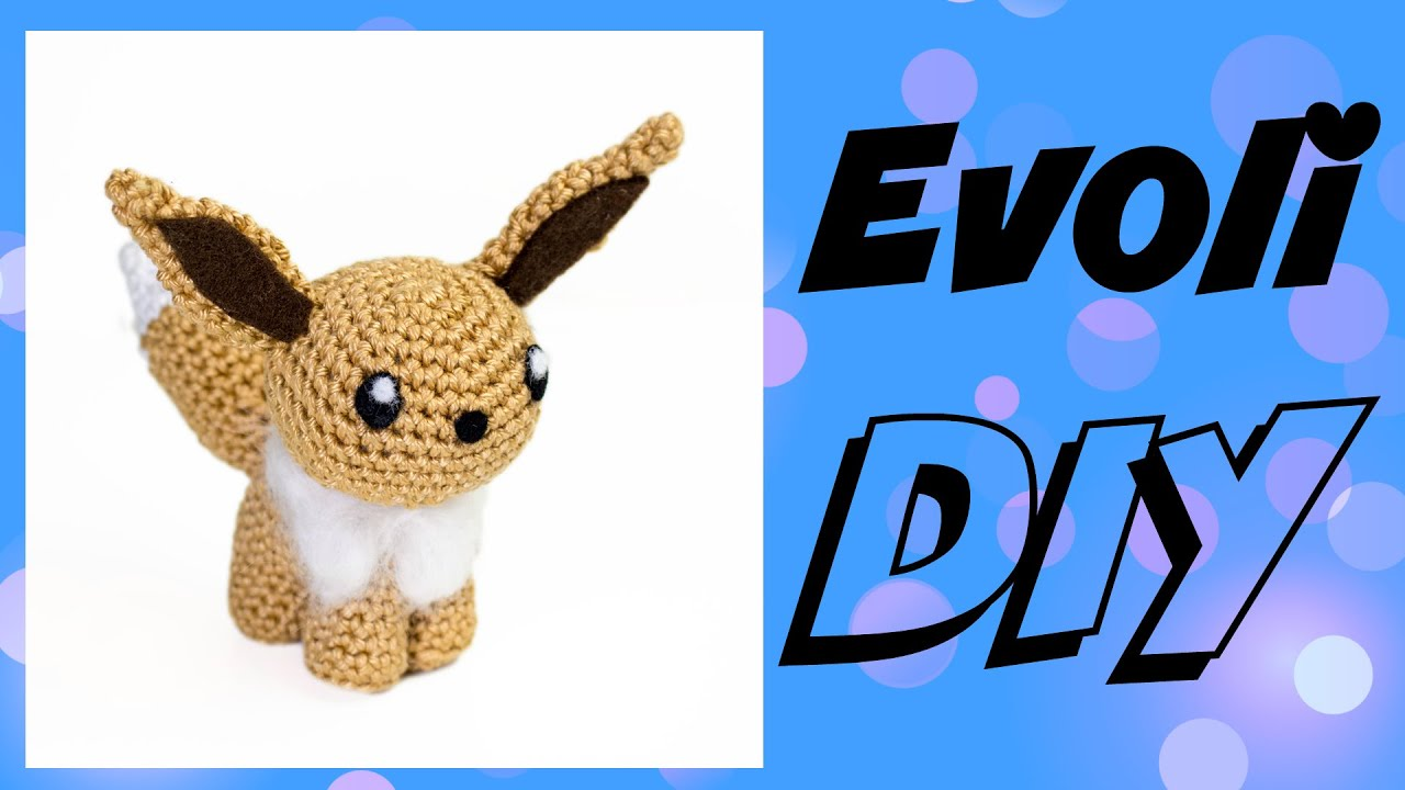Evoli Häkeln Do It Yourself Amigurumi Pokémon Woche Eng Sub