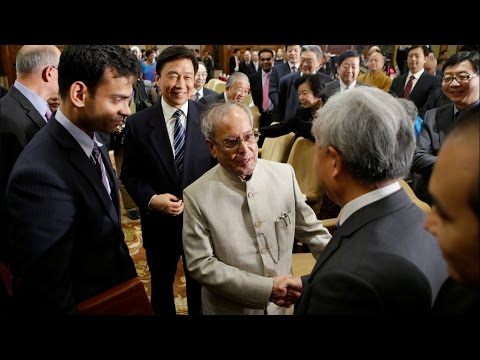 Pranab Mukherjee Seeks Chinese Investments And Access To Markets