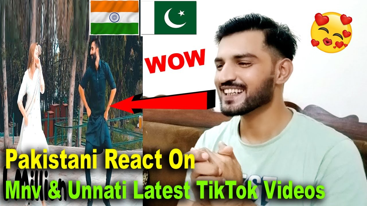 Pakistani React on Mnv And Unnati Latest Dance TikTok Videos|Mnv & Unnati New Dance Videos | Tik