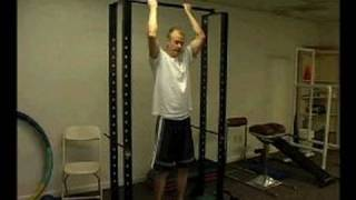 Cross Fitness Upper Body Exercises : How to Do a Jumping Pull Up Exercise