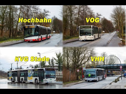 Bild Busse auf dem SEV S21 Berliner Tor  Bergedorf ☆ Hochbahn ☆ VHH ☆ KVG ☆ VOG