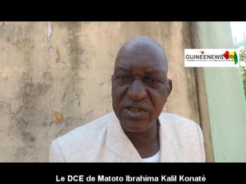 Manif des élèves: le DCE de Matoto Ibrahima Kalil Konaté explique...