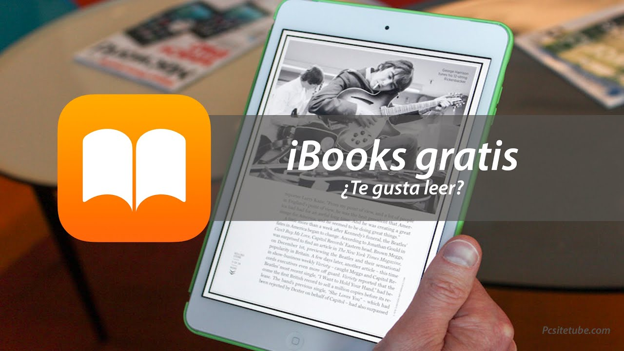 Como descargar libros gratis para iBooks iPhone, iPad y