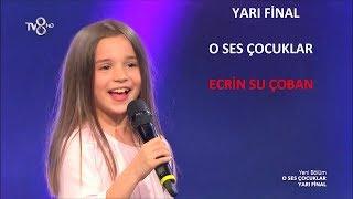 O Ses Çocuklar Yarışması Yarı Final Performansı. Gökçe 'nin Tik Tak Parçası İle Ecrin Su Çoban