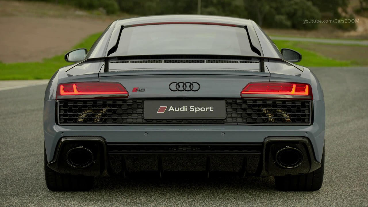 2019 Audi R8 V10 Plus Kemora Grey Youtube