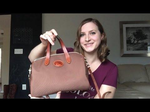 Unboxing/Reveal *NEW BAG* Dooney & Bourke Nylon Olivia