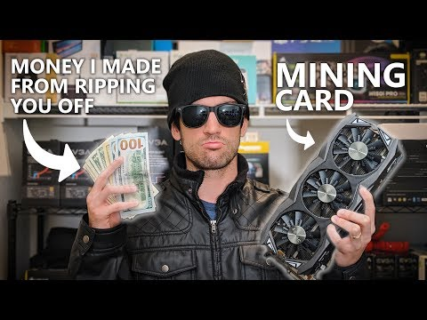 The Truth About Used Mining Cards...