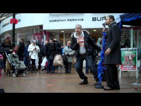 The Dualers - 'Don't Stay Out Late' - Last Croydon Busk