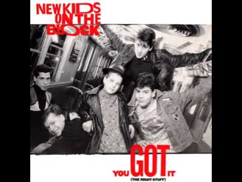 """New Kids On The Block - You Got It (The Right Stuff) (12"""" Extended Version)"""
