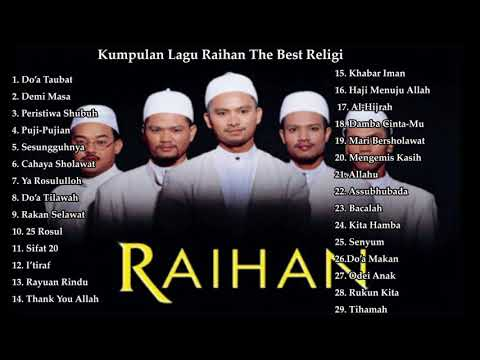 Kumpulan Lagu Raihan The Best Religi