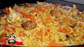 Рис с мясом или мясо с рисом из духовки от Мишани.  Men in the kitchen