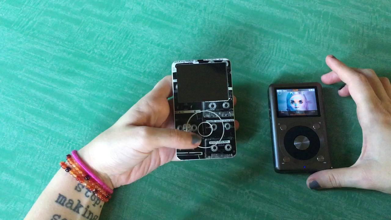iPod Classic 6th Gen vs Fiio X3II - YouTube