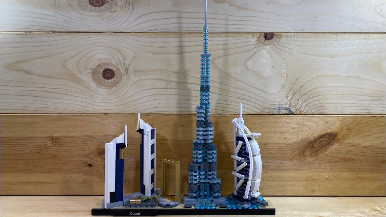 UNBOXING and SPEED BUILD: LEGO Architecture; Dubai | United Arab Emirates 21052