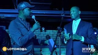 Evens Blaise  de Jazz Enterprise honoré par coalition des promoteurs de New York