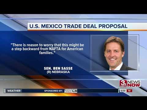 Nebraska lawmakers react to new trade deal