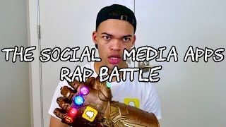 The Social Media Apps Rap Battle