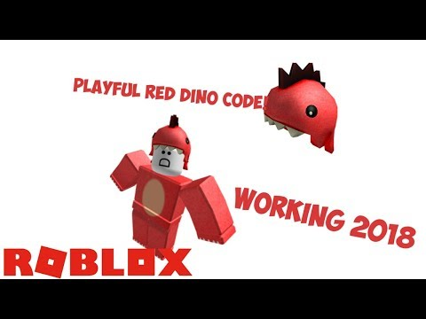ROBLOX NEW PROMO CODE *Playful Red Dino*
