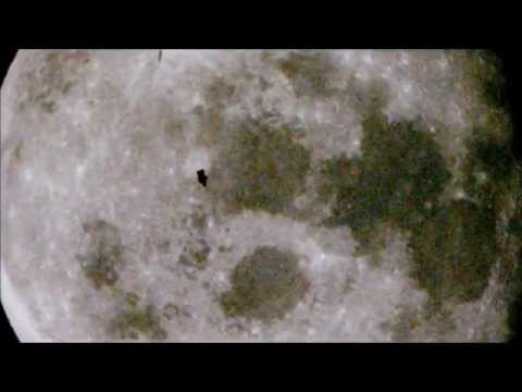 UFO Anomalies on the Moon - captured by NASA during the Apollo Program