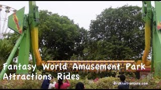 Fantasy World Two Brothers at Amusement Park Attractions Rides