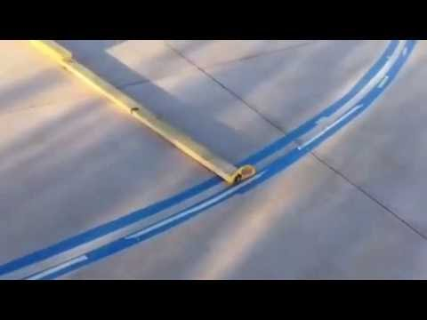 Making (taping) lines for basketball court