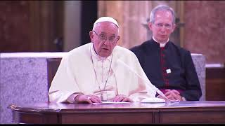 Papa Francisco se refiere a casos de abuso sexual a menores frente a curas