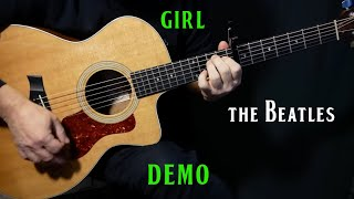 "Gambar cover how to play ""Girl"" on guitar by The Beatles 
